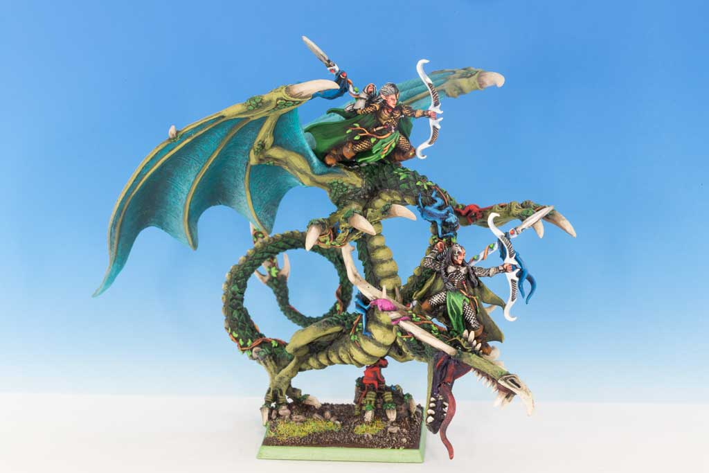 Sisters Of Twilight On Forest Dragon